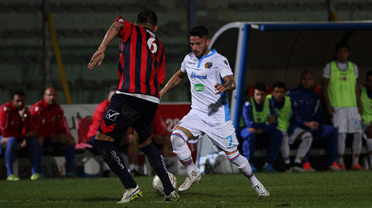 Casertana-Catania: i precedenti
